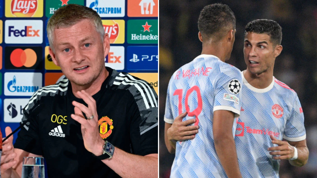 Ole Gunnar Solskjaer explains subbing off Cristiano Ronaldo and Bruno Fernandes during Manchester United's Champions League defeat to Young Boys - Bóng Đá
