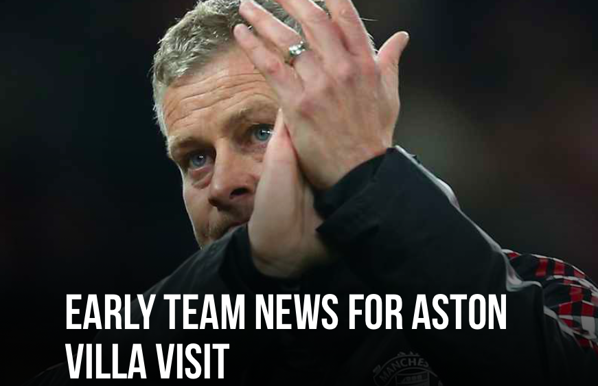 Man Utd team news ahead of Aston Villa clash - Bóng Đá