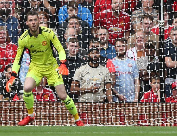 David de Gea disagrees with Ole Gunnar Solskjaer over Man Utd defeat to Aston Villa - Bóng Đá