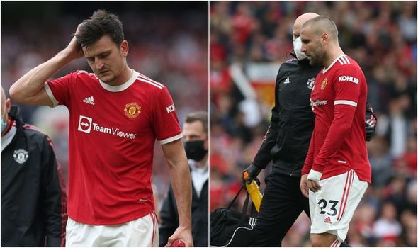 Man Utd duo Harry Maguire and Luke Shaw 'don't look OK' as double injury update offered - Bóng Đá