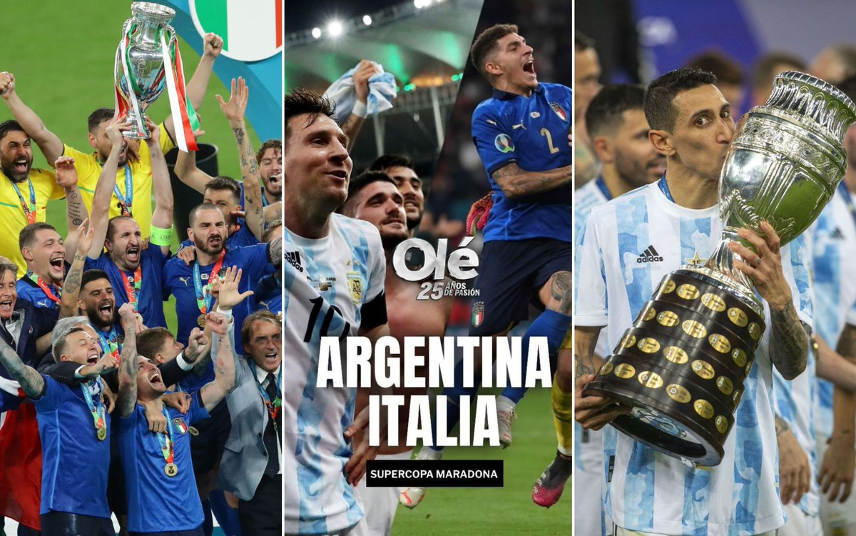 Italia and Argentina will play against each other in June 2022.  - Bóng Đá