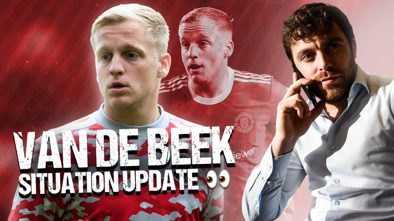 Xác nhận! Van de Beek chọn thời điểm rời M.U khi bị Solskjaer lừa dối