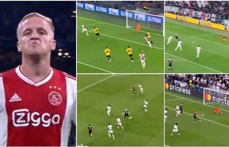 Van de Beek đẳng cấp, bùng nổ dữ dội trước khi tới Man Utd - Bóng Đá