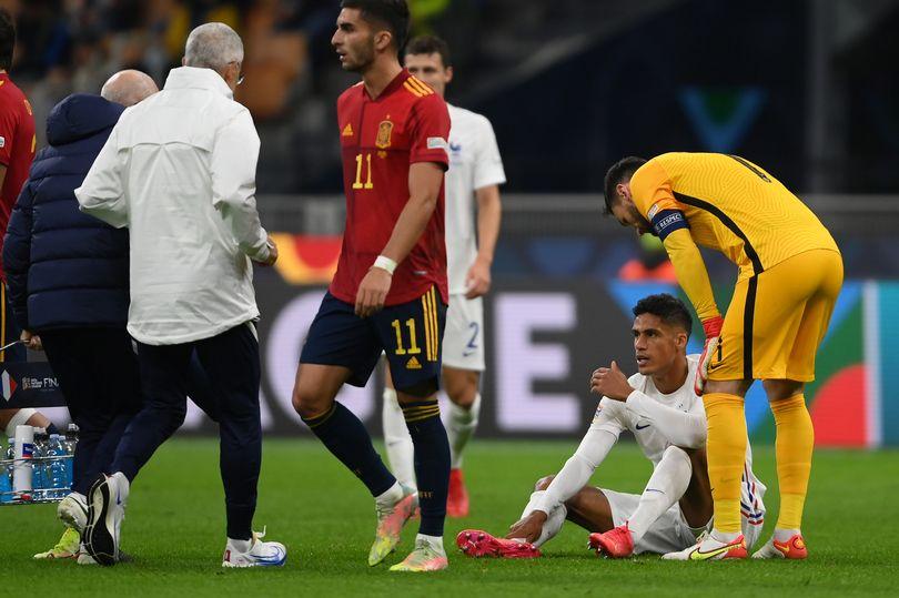 Varane injured - Bóng Đá