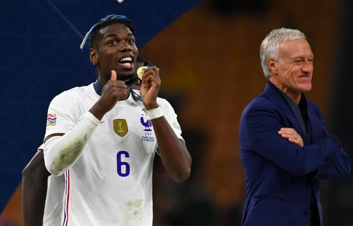 Martial cười tươi khi cùng Pháp ăn mừng danh hiệu Nations League - Bóng Đá