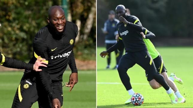 Romelu Lukaku takes part in Chelsea training after injury scare on international duty with Belgium - Bóng Đá
