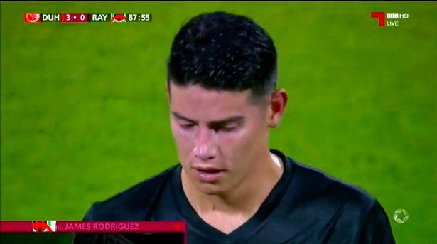 11Bet news: James Rodriguez có màn ra mắt đội bóng mới thảm họa