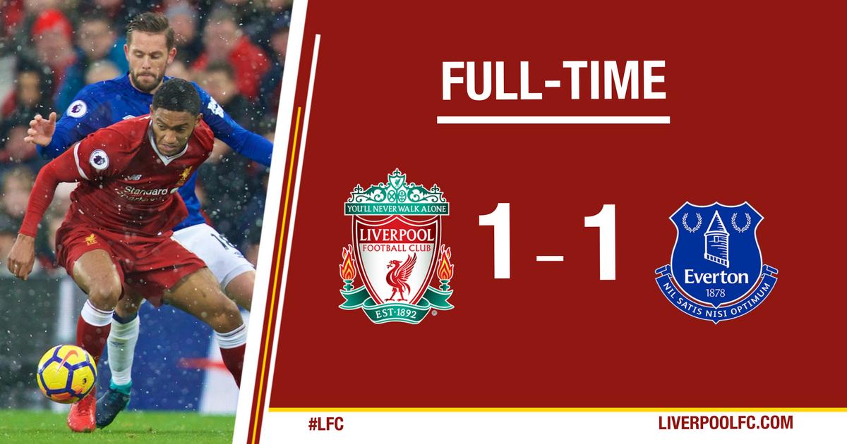 TRỰC TIẾP Liverpool 1-1 Everton: Penalty nghiệt ngã - Bóng Đá