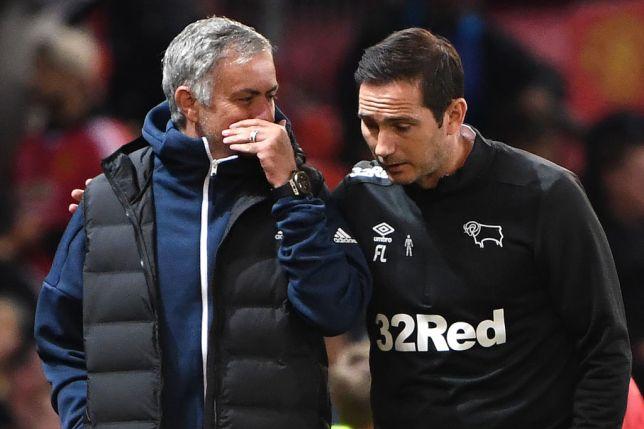 Mourinho tiết lộ điều tâm sự với Lampard sau trận thua Derby County - Bóng Đá
