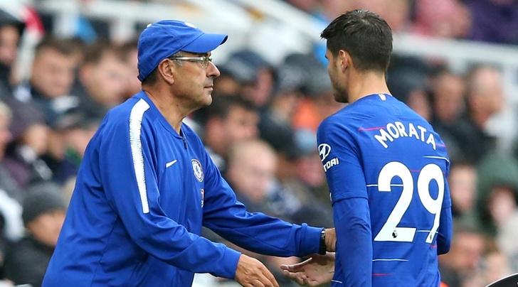 'Sarri nên đạp thẳng vào ống chân Morata' - Bóng Đá
