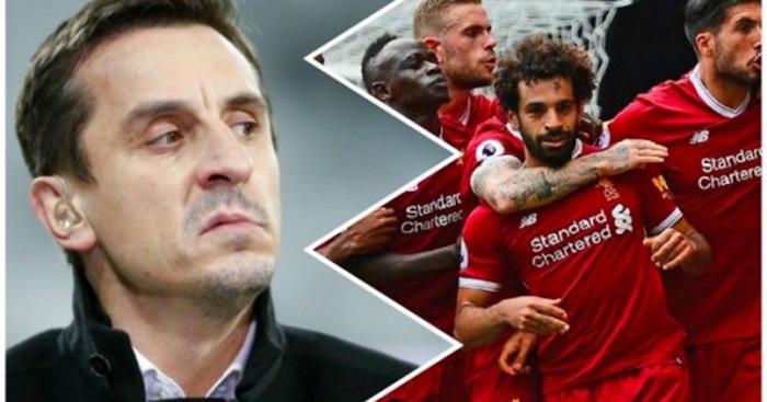 Gary Neville hiến kế để Liverpool vượt mặt Man City - Bóng Đá