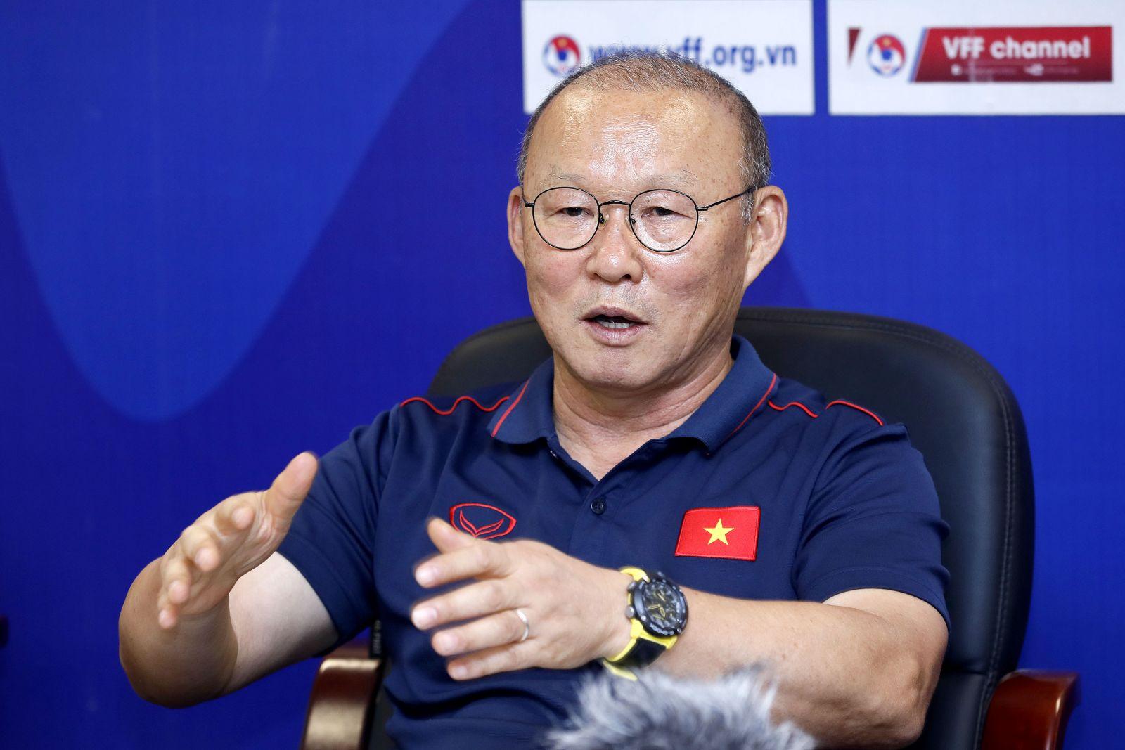 HLV Park Hang-seo: Tôi chỉ hài lòng 1 điều duy nhất ở trận đấu với Brunei - Bóng Đá