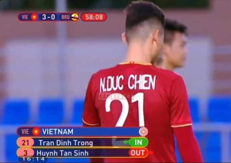 Đây, bằng chứng cho sự nghiệp dư của BTC SEA Games ở trận đấu của U22 Việt Nam - Bóng Đá
