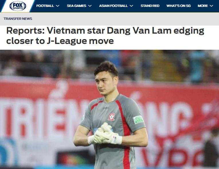 NÓNG: Đặng Văn Lâm lọt vào tầm ngắm của CLB J-League, chuẩn bị sang Nhật thi đấu? - Bóng Đá