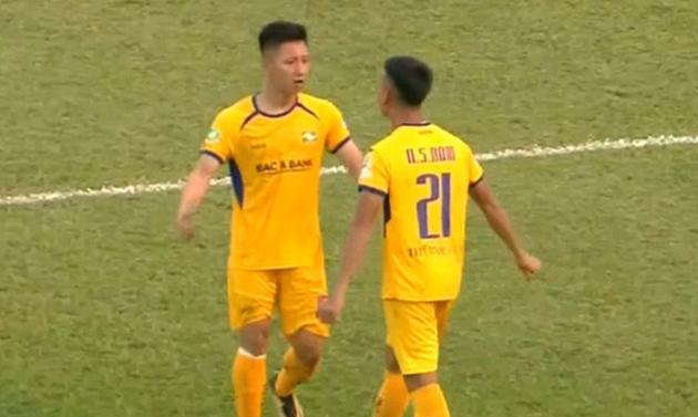 sau trận SL Nghệ An vs Bình Định - Bóng Đá