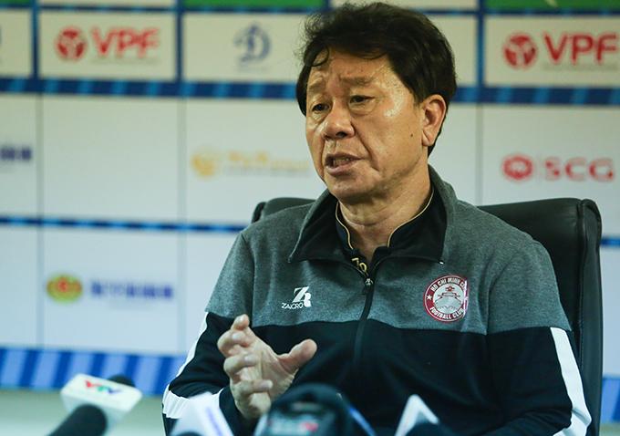 Thua đau CLB Hà Nội, HLV Chung Hae-soung rời ghế nóng CLB TP.HCM - Bóng Đá