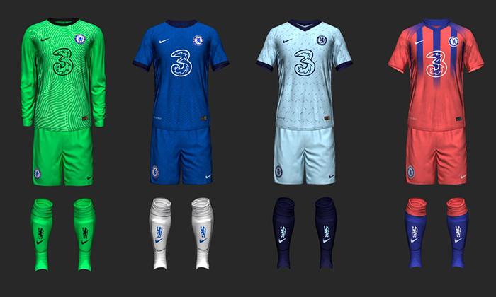 Hé lộ thiết kế áo đấu thứ 3 của Chelsea mùa giải 2020/21 - Bóng Đá