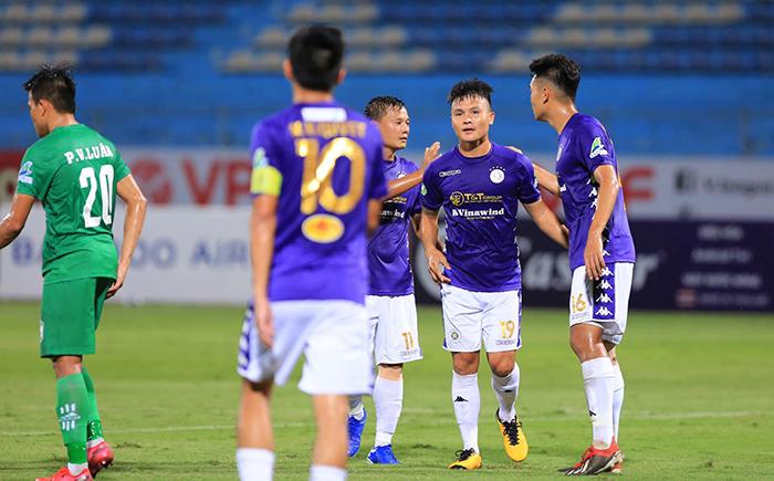 Dội mưa gôn vào lưới XSKT Cần Thơ, CLB Hà Nội đoạt vé vào Bán kết - Bóng Đá
