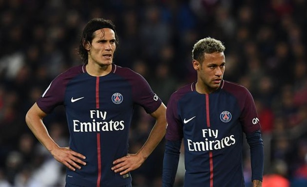 Edinson Cavani opens up Neymar relationship ahead of Man Utd vs Paris Saint-Germain - Bóng Đá