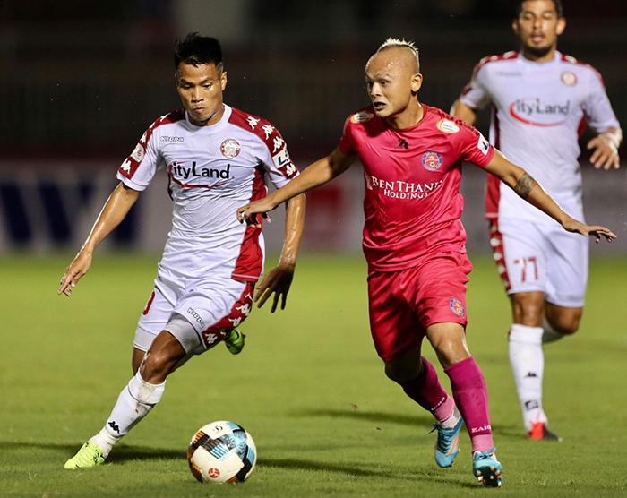 Derby Sài Gòn bất phân thắng bại; Viettel củng cố ngôi đầu | Bóng Đá