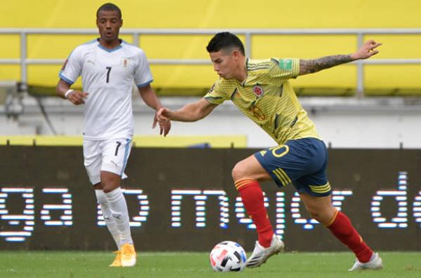 Cavani, Suarez nổ súng, Uruguay quật ngã Colombia ngay trên sân khách - Bóng Đá