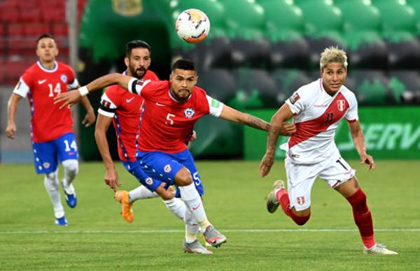 Ảnh sau trận Chile vs Peru - Bóng Đá