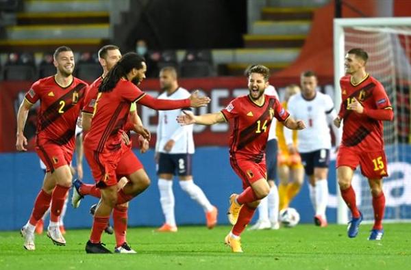 Thua trắng Bỉ, ĐT Anh hết cơ hội dự vòng Bán kết Nations League - Bóng Đá