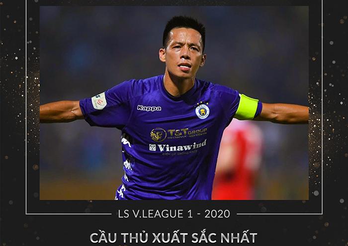 V-League 2020 Award: Văn Quyết và HLV Việt Hoàng được vinh danh - Bóng Đá