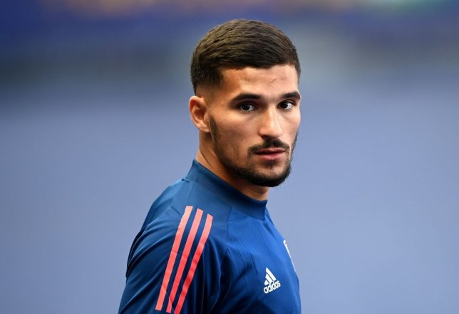 Arsenal target Houssem Aouar punished by Lyon after refusing to warm-down - Bóng Đá