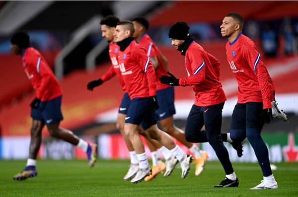 TRỰC TIẾP Man Utd vs PSG: Tam tấu Cavani, Martial, Rashford xuất trận - Bóng Đá