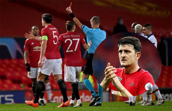 Fred nhận thẻ đỏ, Maguire nói thẳng về công tác trọng tài tại Champions League - Bóng Đá