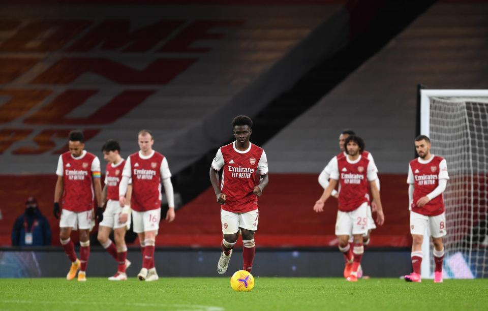 Arsenal bị chê chơi bóng thiếu tự tin hơn cả đội đang đua trụ hạng - Bóng Đá