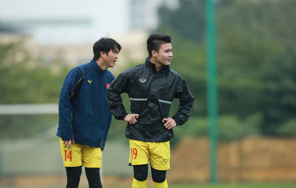 Trước trận gặp U22 Việt Nam, thầy Park nhận tin vui từ Quang Hải và Tuấn Anh - Bóng Đá