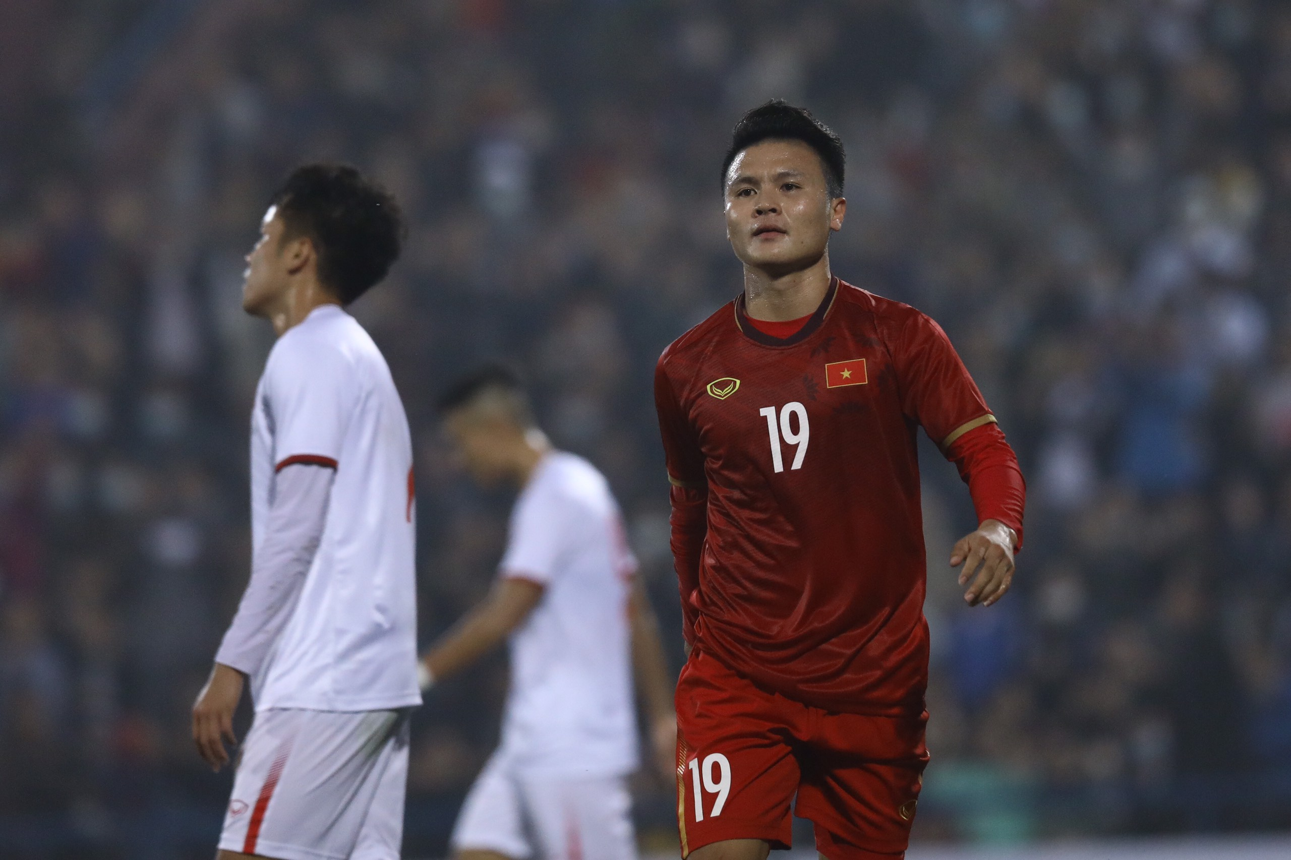 Quang Hải toả sáng, ĐT Việt Nam vẫn hoà đáng tiếc trước U22 - Bóng Đá