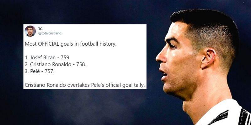 Messi gọi, Ronaldo trả lời bằng việc san bằng 1 kỷ lục của Pele - Bóng Đá
