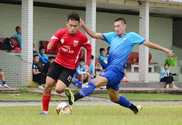 Long An bất phân thắng bại với An Giang ở trận giao hữu tiền mùa giải 2021 - Bóng Đá