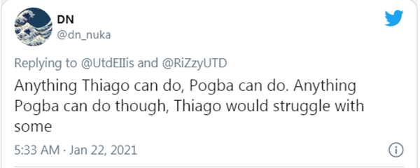 CĐV Man Utd mỉa mai Thiago: