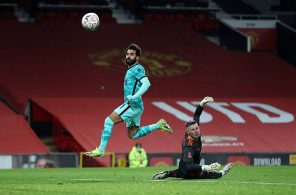 TRỰC TIẾP Man Utd 0-1 Liverpool (Hiệp 1): Salah mở tỷ số - Bóng Đá
