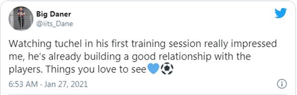 Fan Chelsea nói thẳng về buổi tập đầu tiên của tân HLV Tuchel - Bóng Đá