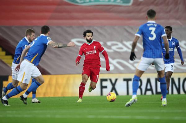 5 điểm nhấn Liverpool 0-1 Brighton: Salah vô duyên,