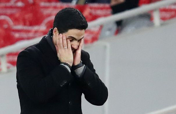 Hòa Benfica, Arteta chỉ ra điều thất vọng nhất về các học trò - Bóng Đá