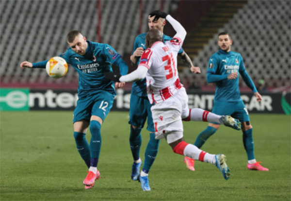5 thống kê thú vị của AC Milan sau trận hòa oan nghiệt trước Crvena Zvezda - Bóng Đá