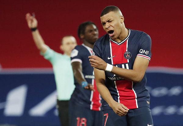 Vừa chinh phạt Barca, Mbappe cùng PSG trở nên tệ hại tại Ligue 1 - Bóng Đá