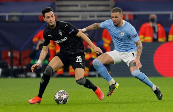 5 điểm nhấn Gladbach 0-2 Man City: Bổn cũ soạn lại, Cancelo đáng điểm 10 - Bóng Đá
