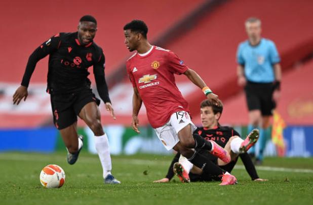 Diallo thi đấu ra sao trong 30 phút góp mặt ở trận Man Utd vs Sociedad - Bóng Đá