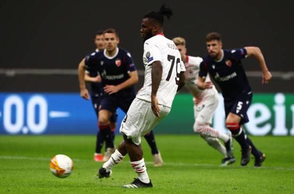 7 con số thú vị sau trận hòa của AC Milan ở trận lượt về với Crvena Zvezda - Bóng Đá