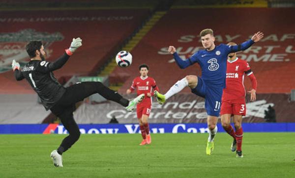 VAR đã cướp mất bàn thắng của Timo Werner vào lưới Liverpool? - Bóng Đá