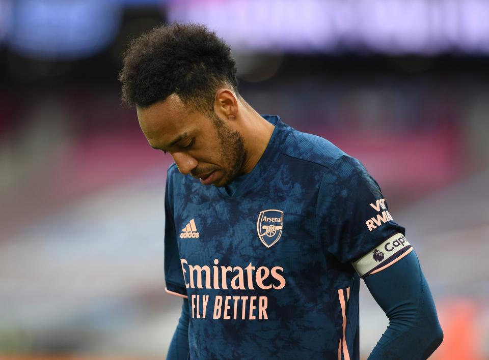 Tiết lộ lý do Aubameyang sa sút trầm trọng tại Arsenal - Bóng Đá