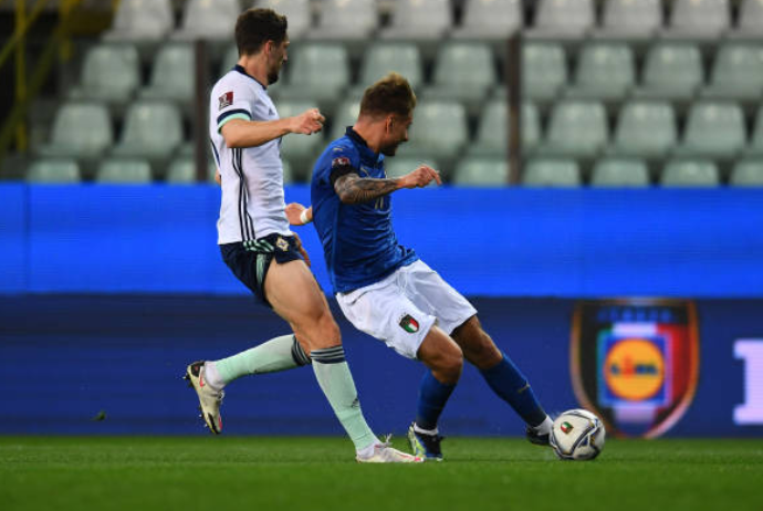 Kết liễu trong hiệp 1, ĐT Italia thắng nhẹ nhàng Bắc Ireland trên sân nhà - Bóng Đá