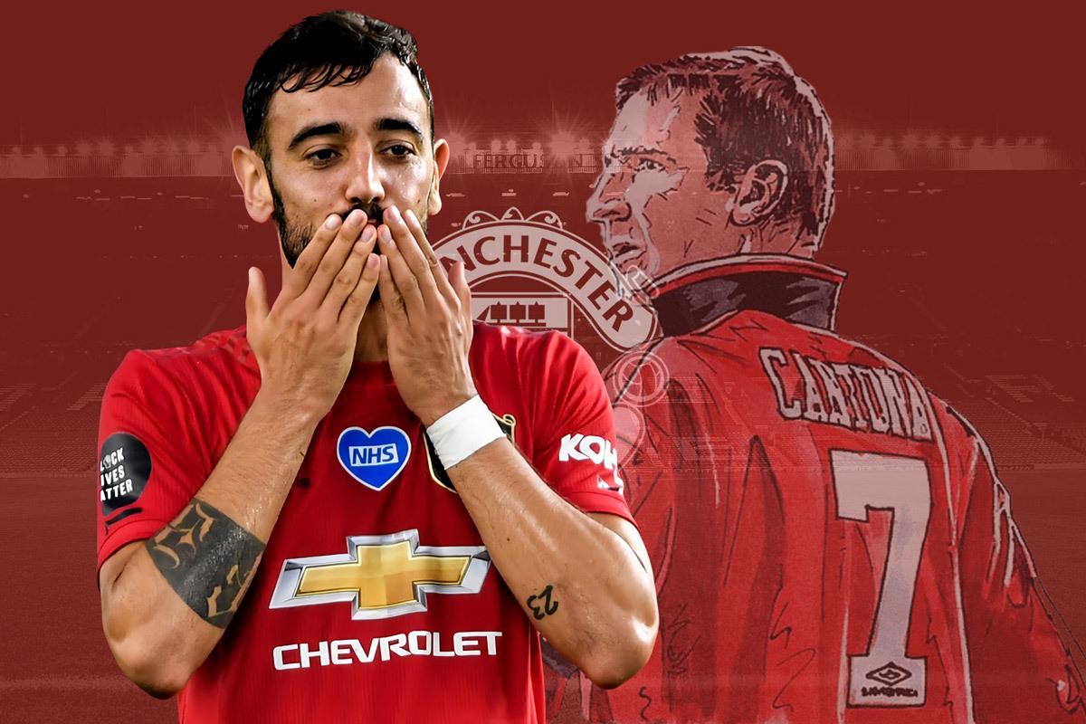Bruno Fernandes muốn làm đồng đội với 3 huyền thoại Man United - Bóng Đá